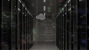 Nube con sus conexiones para hacer una copia de seguridad de disco duro